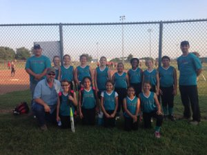 Hillsboro Rebels 10U Girls Softball team