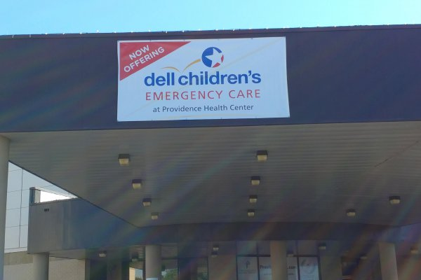 Dell Children's Emergency Care banner